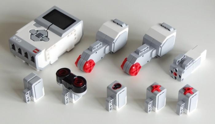 Части от LEGO MINDSTORM EV3 Education Core Set